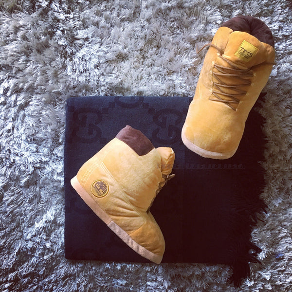 TIMS: Plush House Slippers (Buttas)