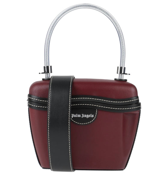 Palm Angels: Padlock Bag (Leather) 3 Colors