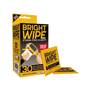 Bright Wipe 30 Pack Online - Eyewear Accessories Online 2021 - Bright Wipes