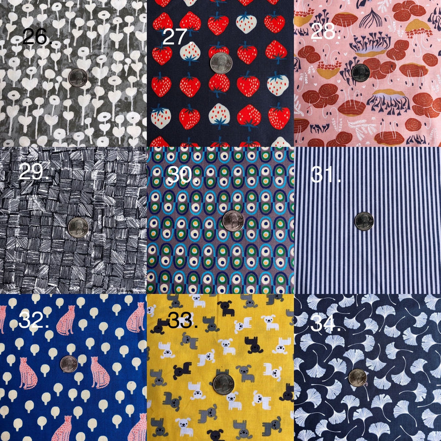 NEW PATTERNS! Handmade Cloth Coverings -- Choose a specific pattern