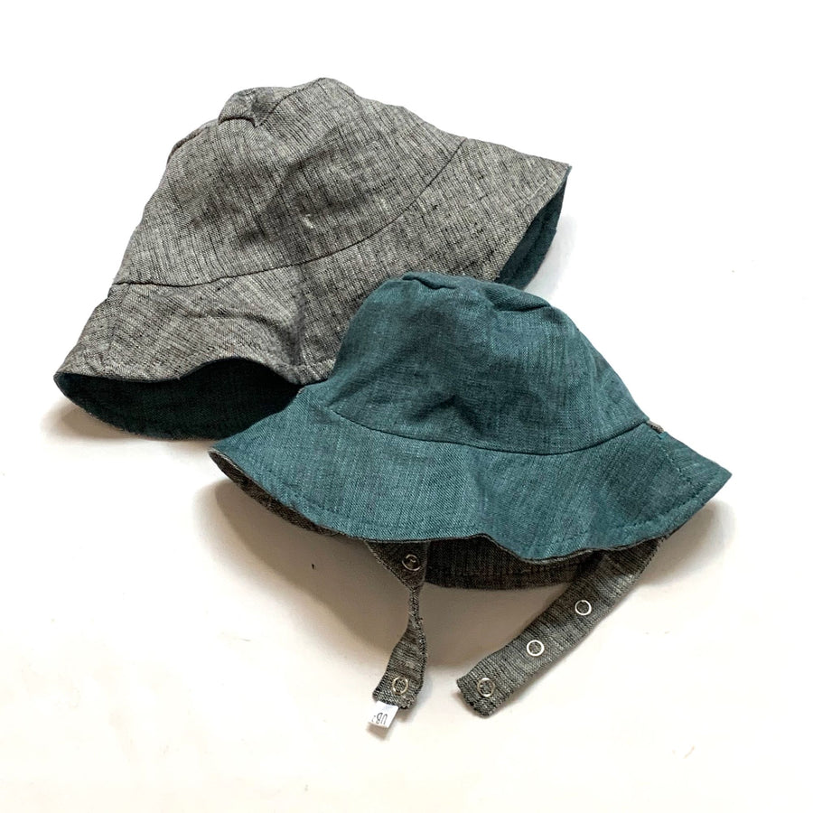bucket hat in Organic Waterway Linen