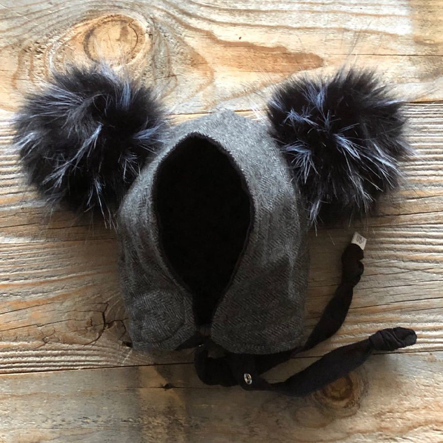Brimless Bonnet in Buckle (add ears or poms) - bebabyco
