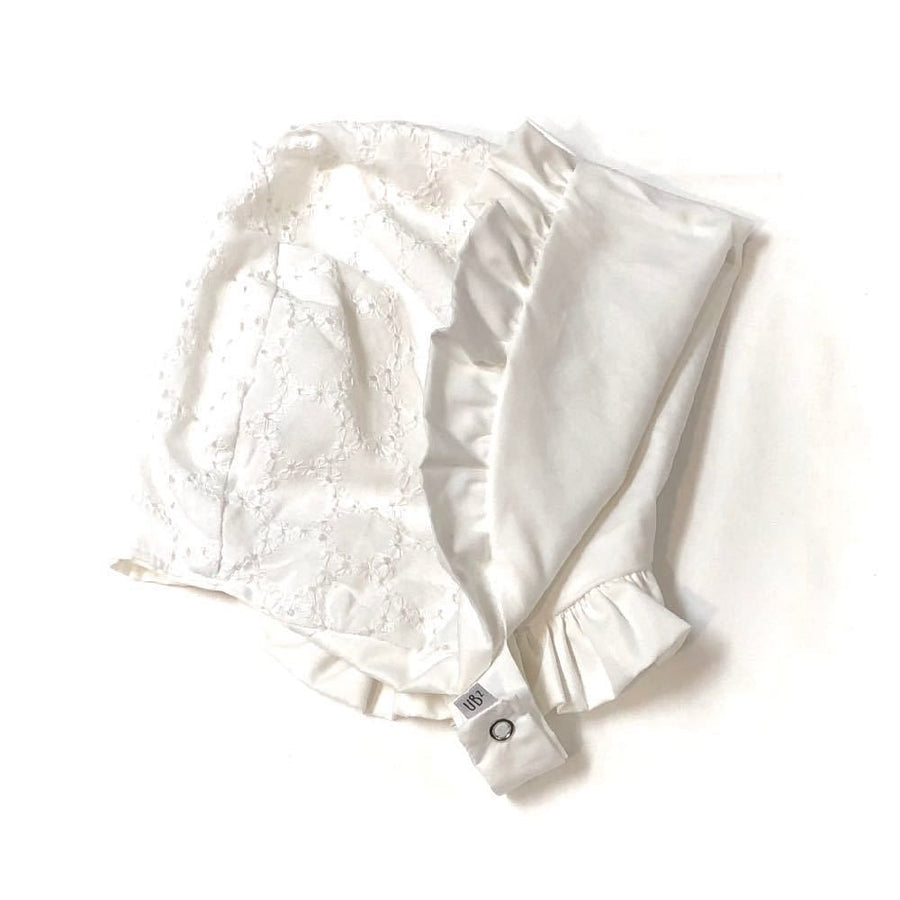 solBonnet Eyelets and Ruffles too - bebabyco