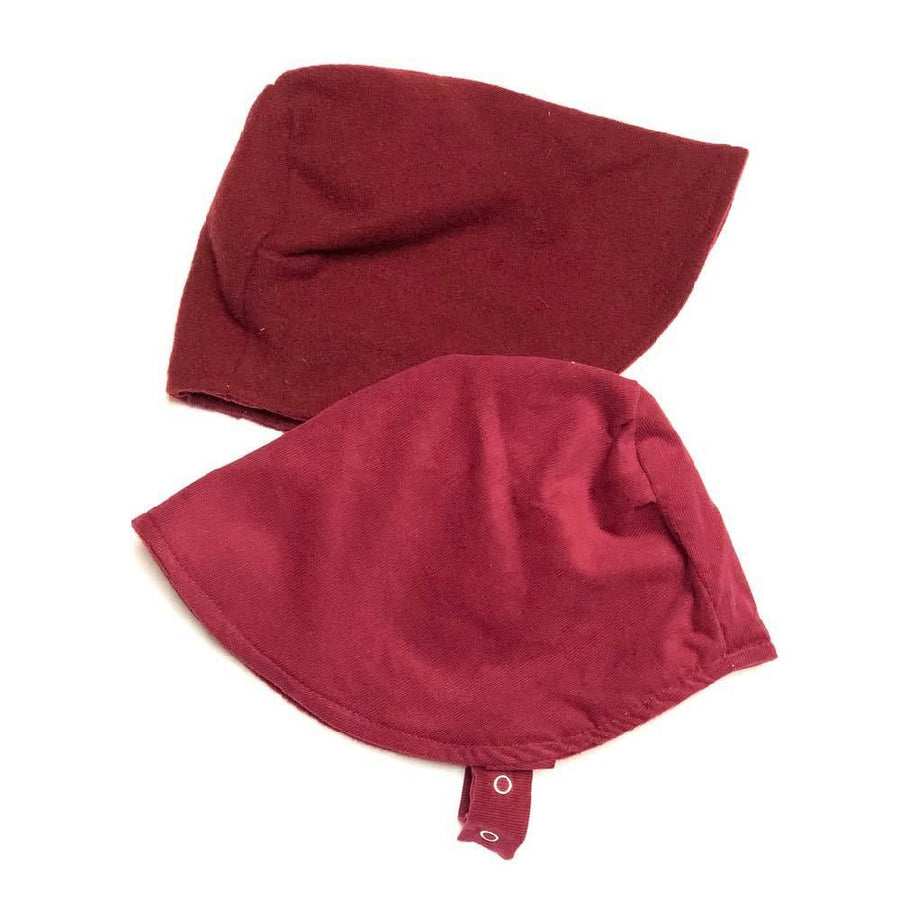 skiBonnet in Garnet (Fall weight) - bebabyco