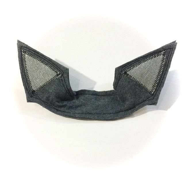wildthings gray sparkly fox ears - bebabyco