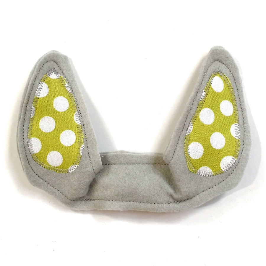wildthings light gray critter ears - bebabyco