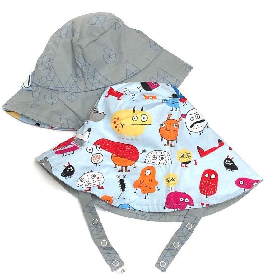 bucket hat in Monstrous - bebabyco