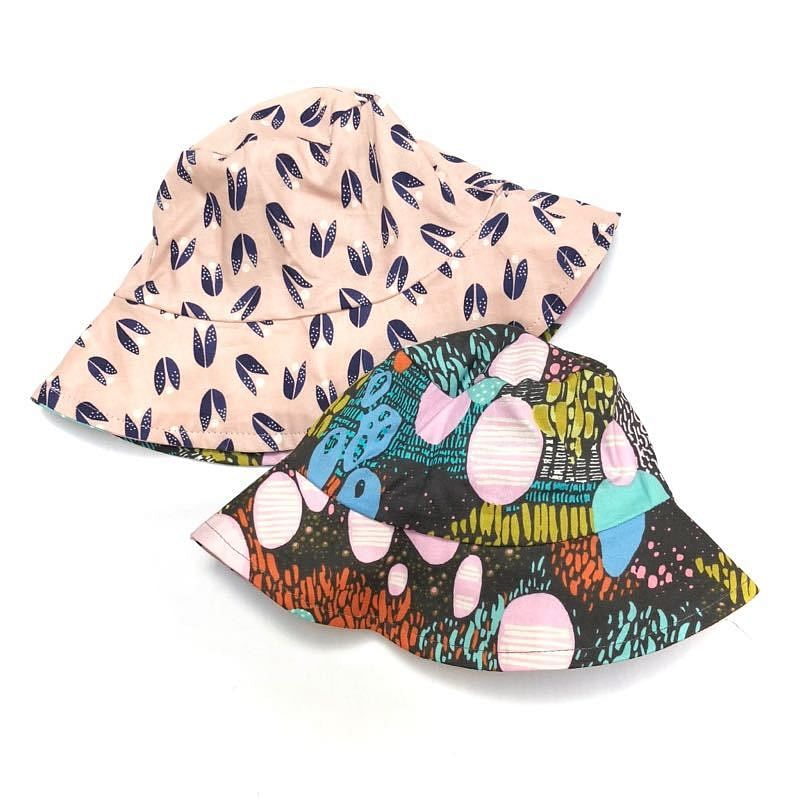 bucket hat in organic jinju - bebabyco