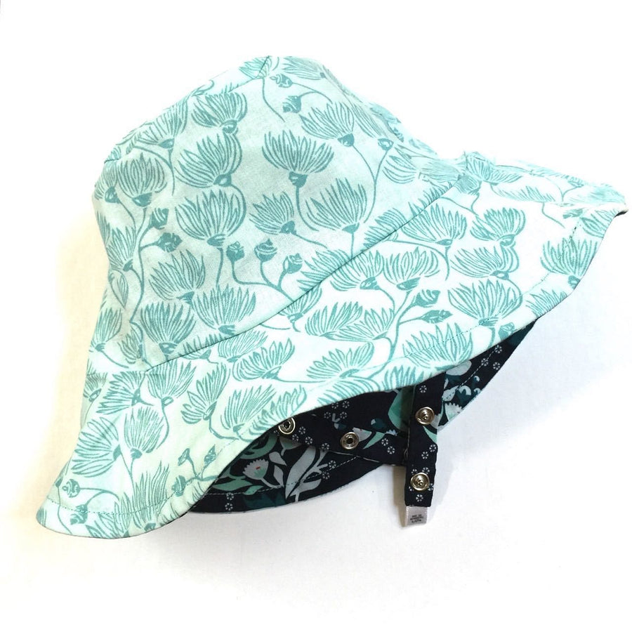 bucket hat in organic lillie - bebabyco