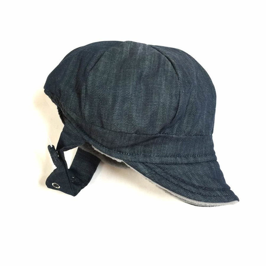 skiCap in rad denim - bebabyco