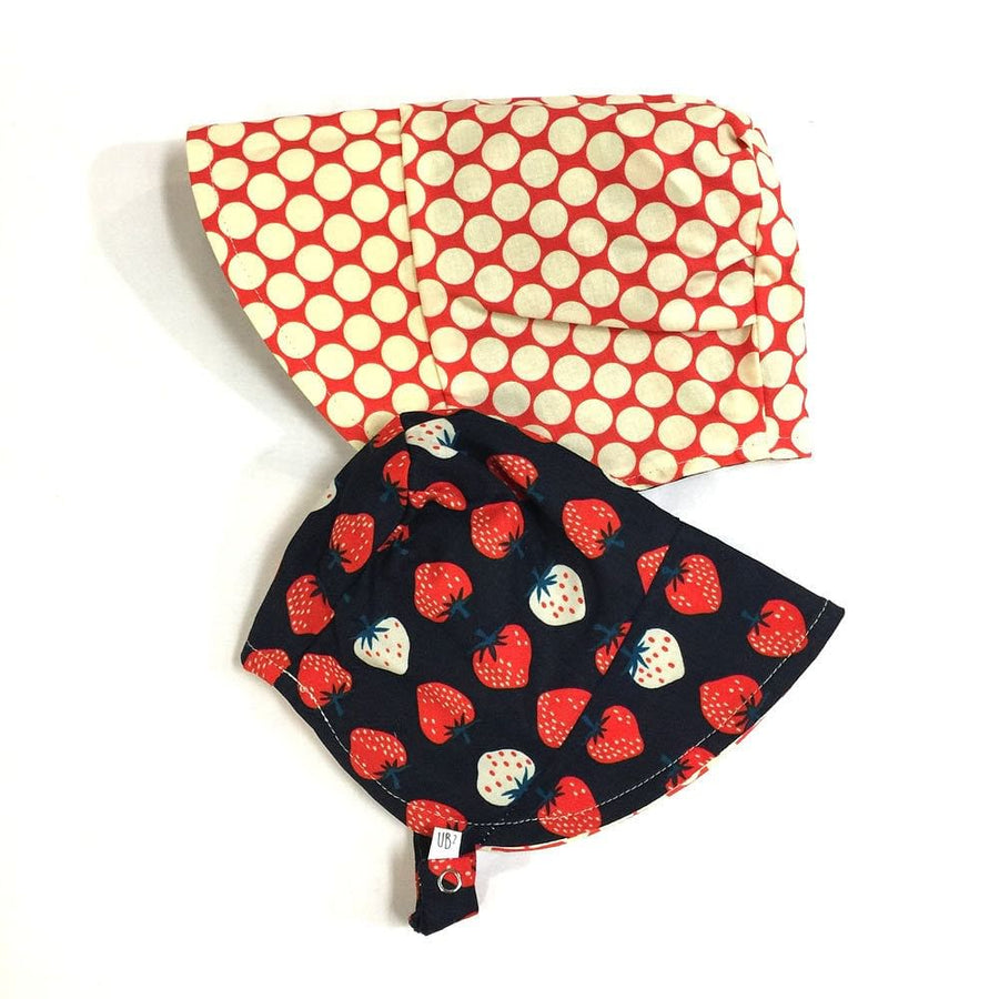 modBonnet in Strawberry Dot - bebabyco