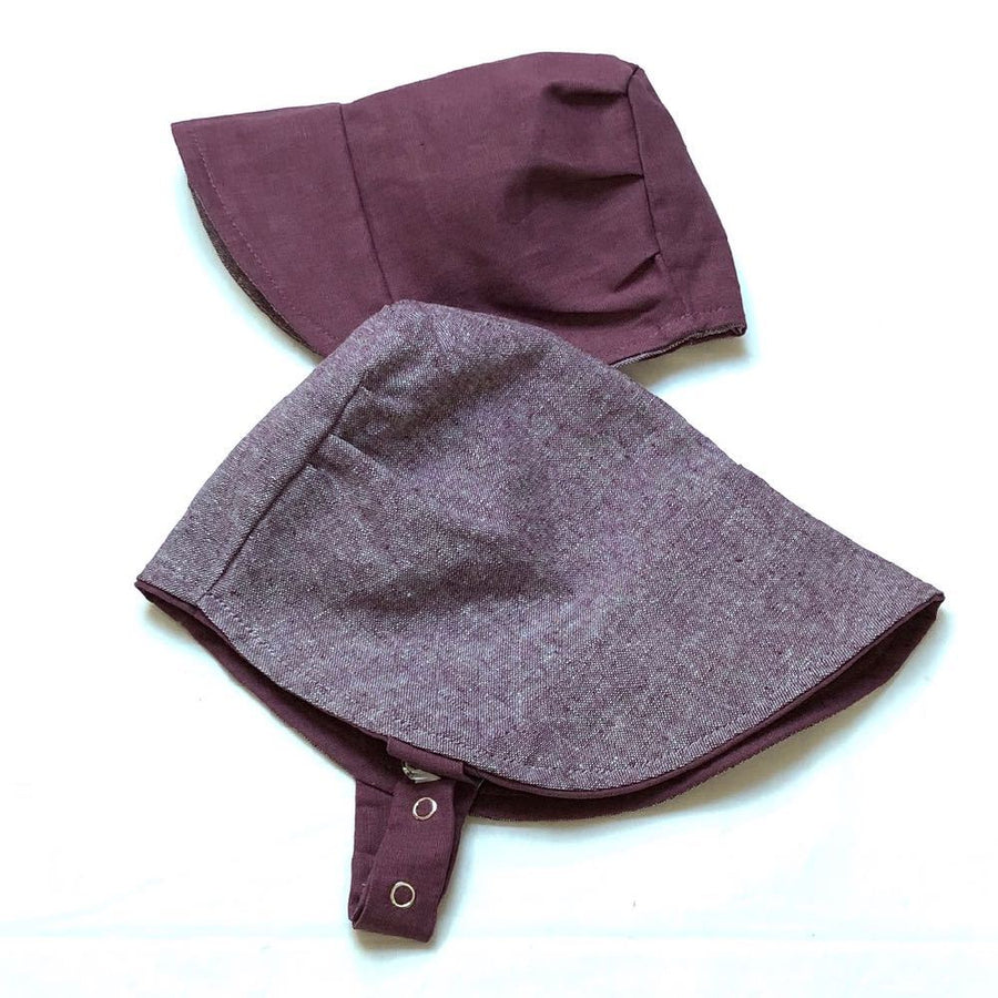modBonnet in Sweetest Plum Too - bebabyco