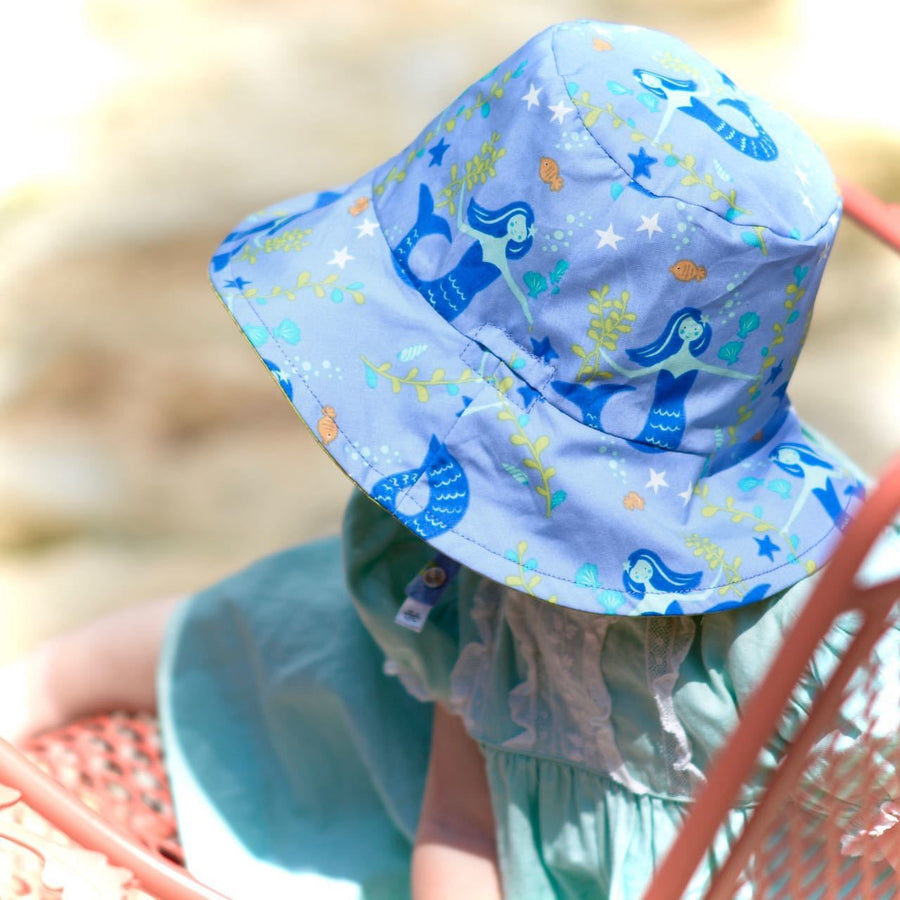 bucket hat in organic treasure - bebabyco