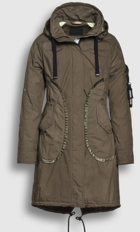 Creenstone parka Summer Army
