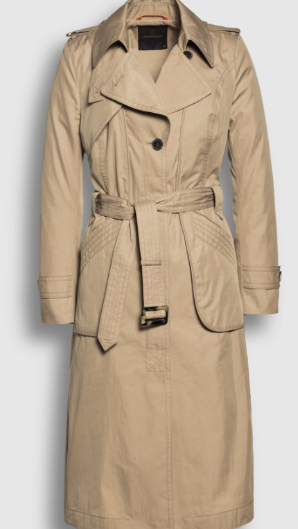 Creenstone long trench coat Golden Camel