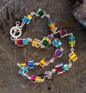 Energy Glass Bead Necklace