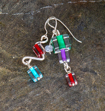 Load image into Gallery viewer, Energy Glass Bead Earrings