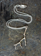 Load image into Gallery viewer, Twig Sterling Silver Pendant