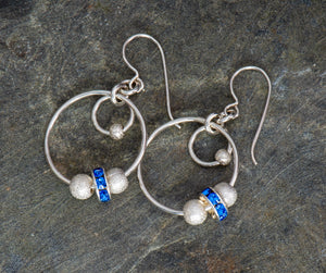 Evening Out Earrings in Blue