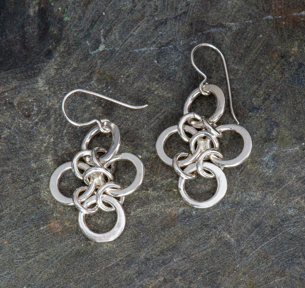 Kyoto Sterling Silver Earrings