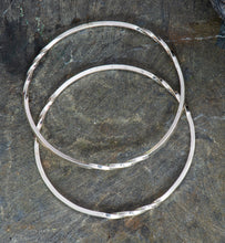 Load image into Gallery viewer, Twist Sterling Silver Bangles