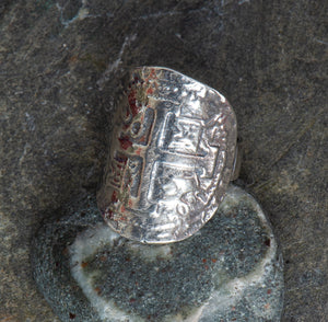Pieces of Eight - Saddle Ring