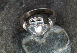 Claddagh Sterling Ring