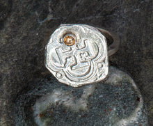 Load image into Gallery viewer, Pieces of Eight Ring with Citrine