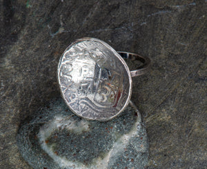 Pieces of Eight Sterling Ring
