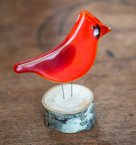 Glass Ornament - Bird