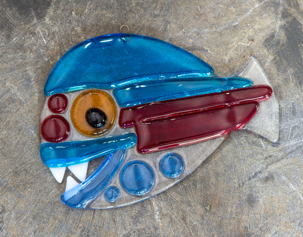 Glass Fish Ornament