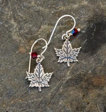 Load image into Gallery viewer, Canada Sterling Silver Earrings