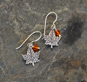 Canada Sterling Silver Earrings