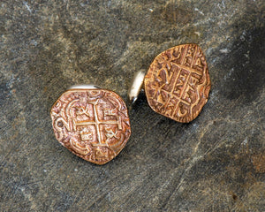 Pieces of Eight Cuff links