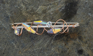 Wind Whistle Brooch
