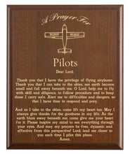Load image into Gallery viewer, Pilots Prayer Plaque