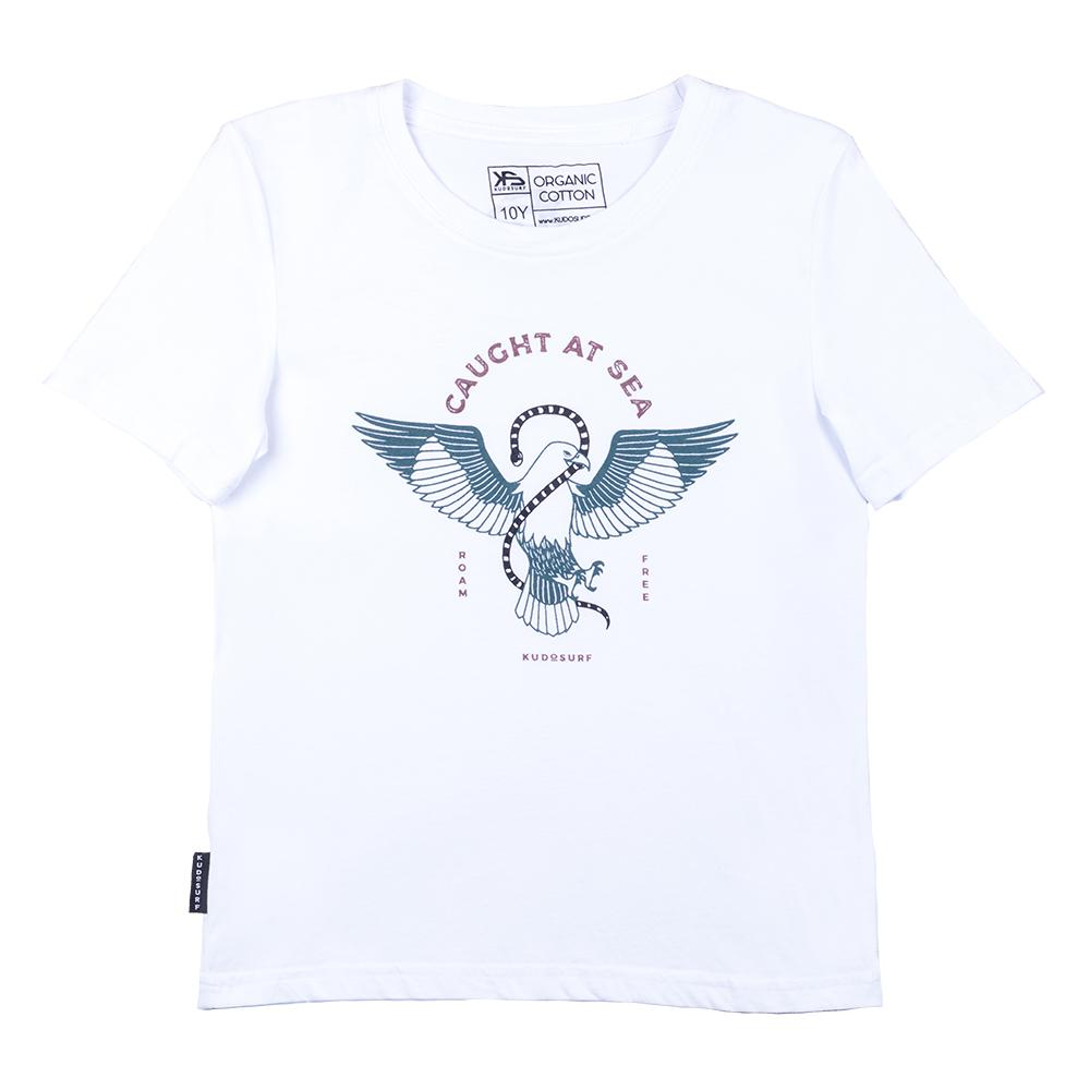 KS Brahminy Kite Kid's Tee (Organic White)