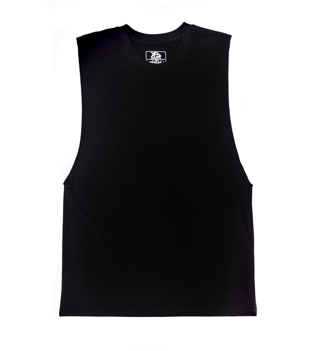 KS Jay Muscle Tee (Cotton Black)