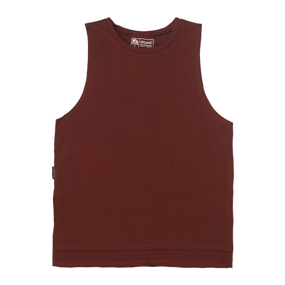 KS Women's Tank (Organic Burgundy)