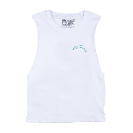 KS Lockdown Essential Kid's Tank (Organic White)