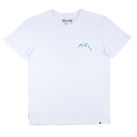 KS Lockdown Essential Men's Tee (Organic White)