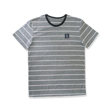 Load image into Gallery viewer, WSL Stripe Knit Men's Tee (Heather Gray)
