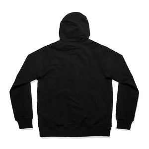 WSL Stealth Men's Hooded Fleece Zip-up (Black)