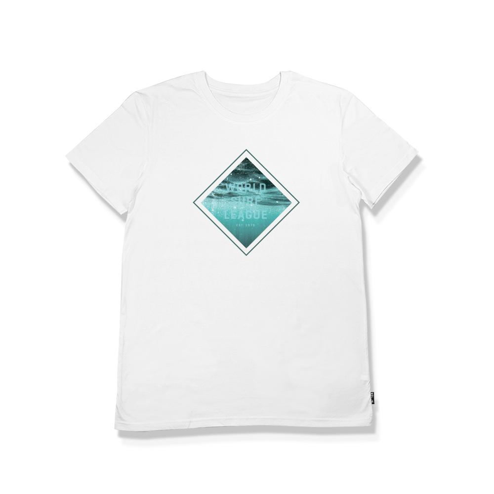 WSL Diamond Men's Tee (White)