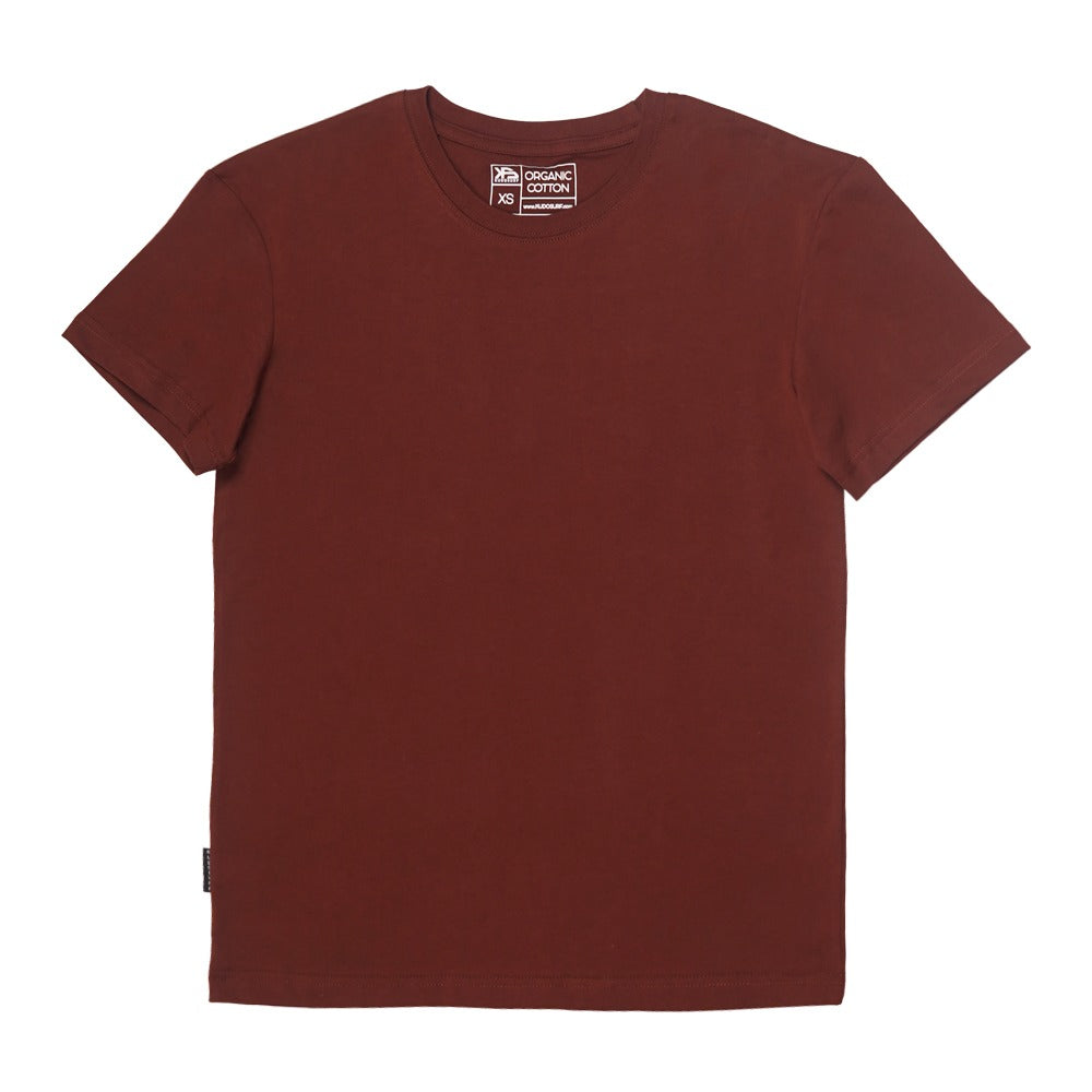 KS Plain Joe Men's Tee (Organic Burgundy)