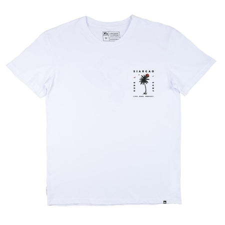 KS Sunset Men's Tee (Cotton White)