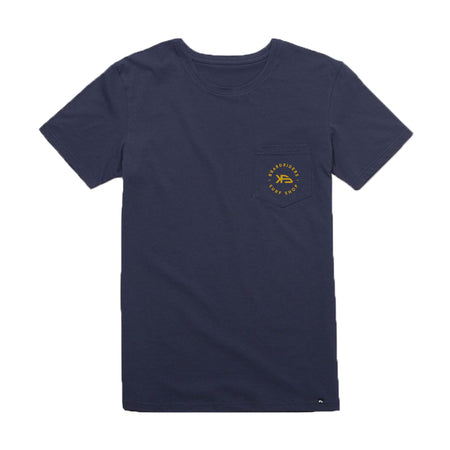KS Boardriders Men's Pocket Tee (Cotton Navy)