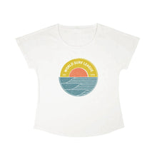 Load image into Gallery viewer, WSL Sunrise Women's Tee (White)