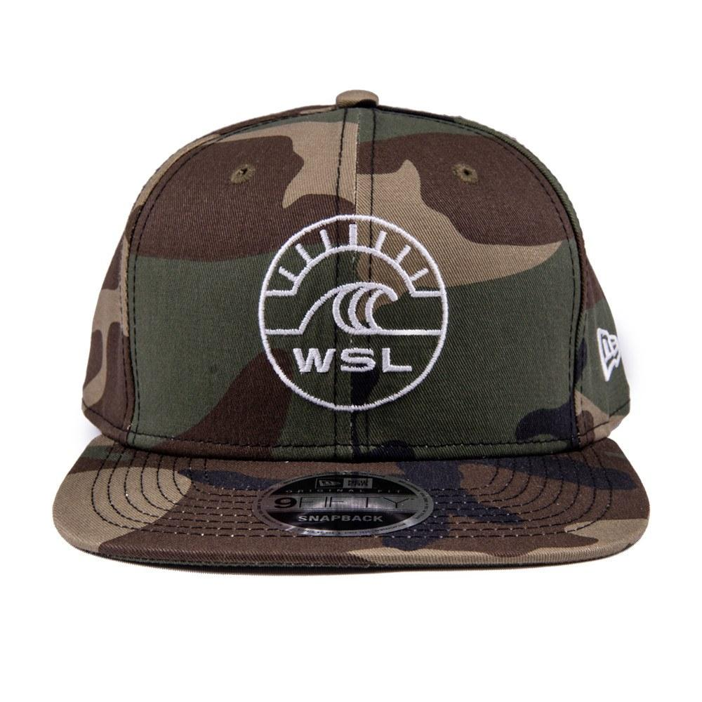 WSL New Era Groundswell Snapback Hat (Camo)