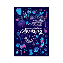 Load image into Gallery viewer, You're Going to be Amazing ~ A4 Foiled Print